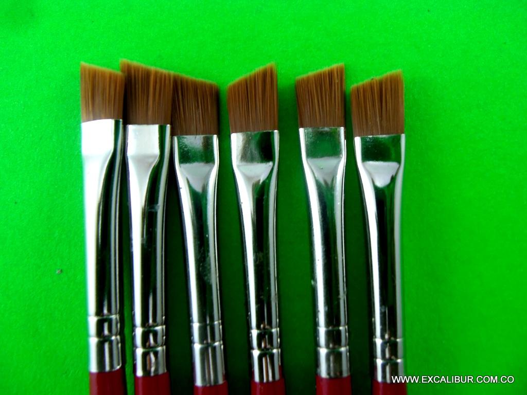 Lujoso Pincel De Abanico Para Las Uñas Ornamento - Ideas Para ...